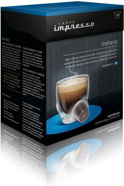 Caffe Impresso Indiano - káva na kapsle
