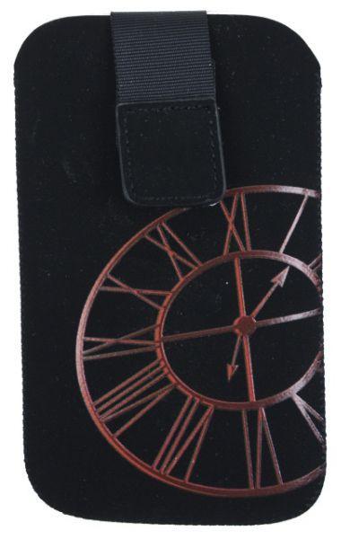 Aligator pouzdro Fresh Clock pro iPhone (červený)