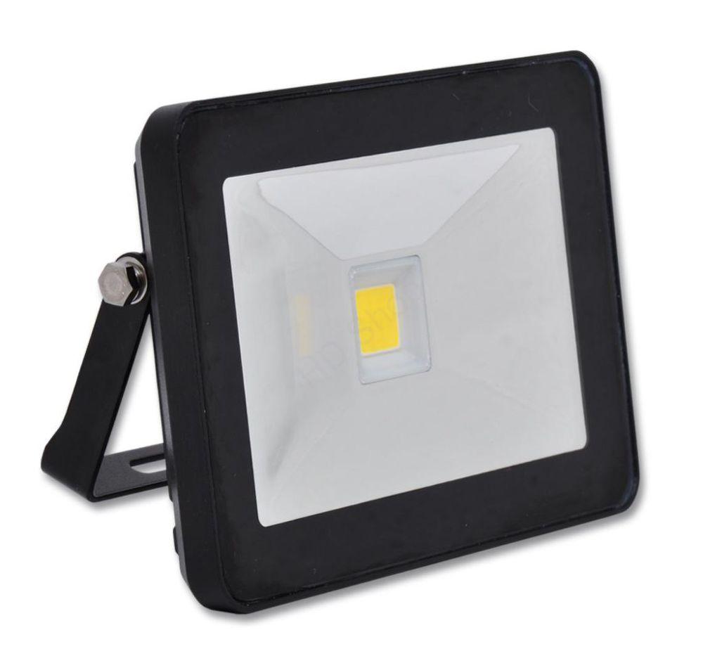 Ecolite LED reflektor s HF senz.,COB,50W,IP44,4100K (černý)