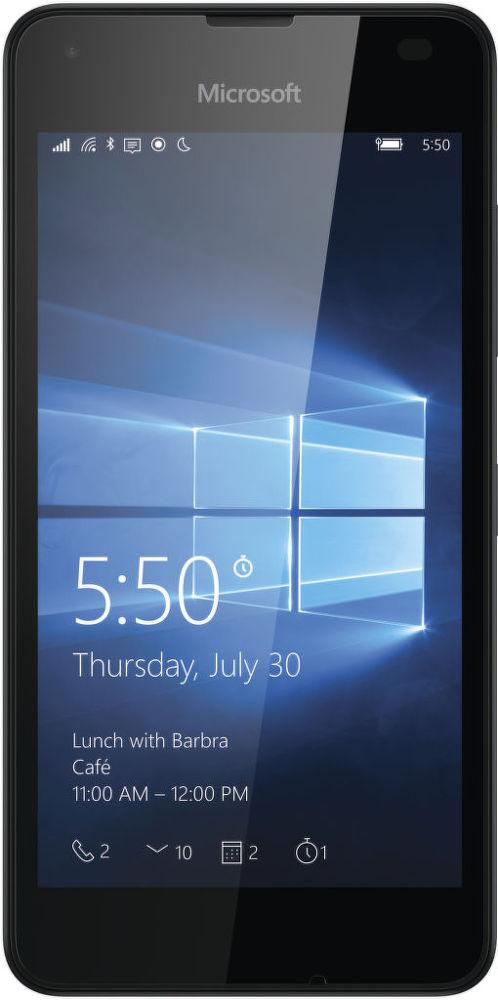 Microsoft Lumia 550 (černý)
