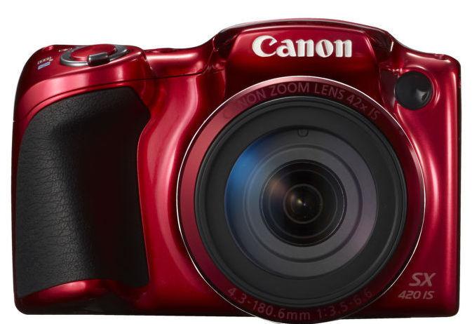 Canon PowerShot SX420 IS (červený)