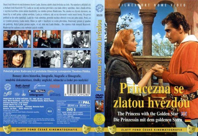 Princezna se zlatou hvězdou - DVD film