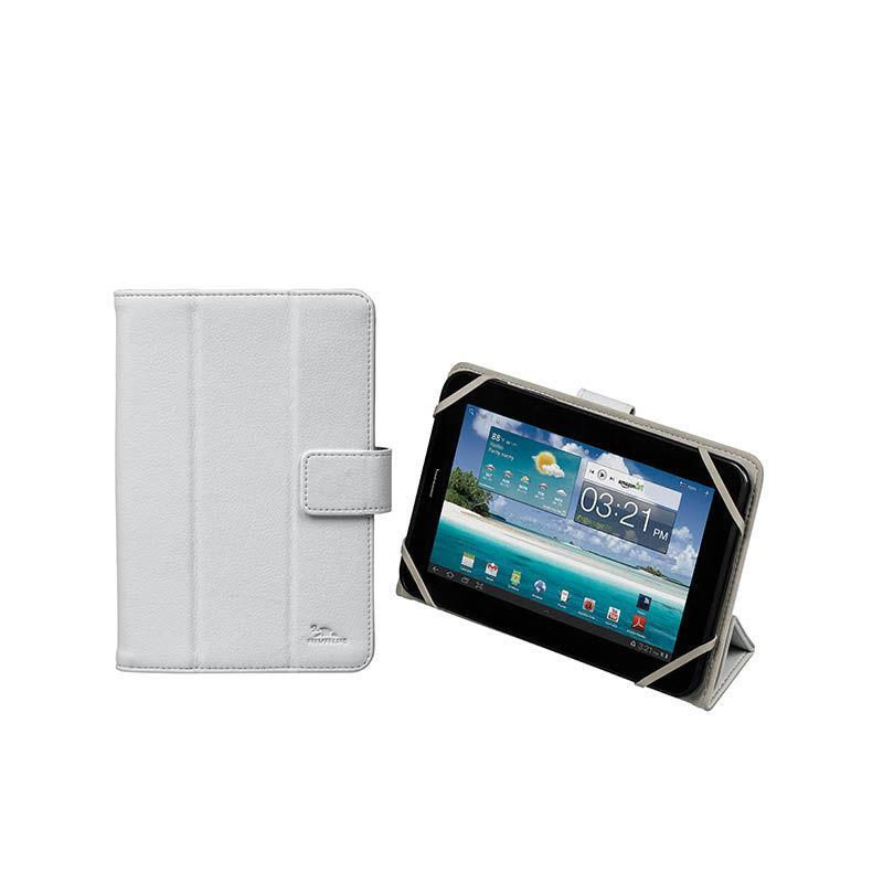 """RivaCase univerzální pouzdro na tablet 7"""" (bílé)"""