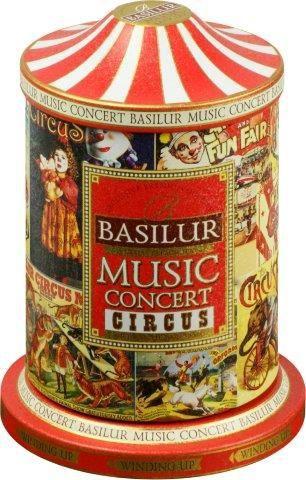 Basilur Music Concert Circus sypaný černý čaj (100g)