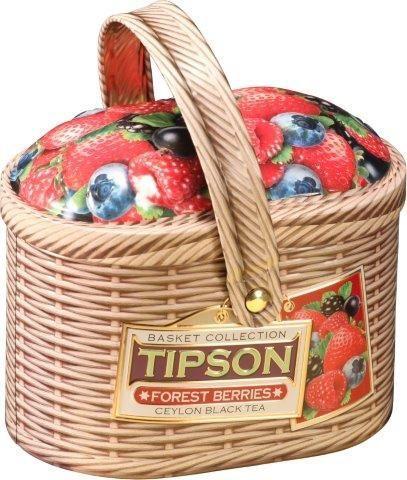 Tipson Basket Forest Berries ovocný sypaný čaj (100g)