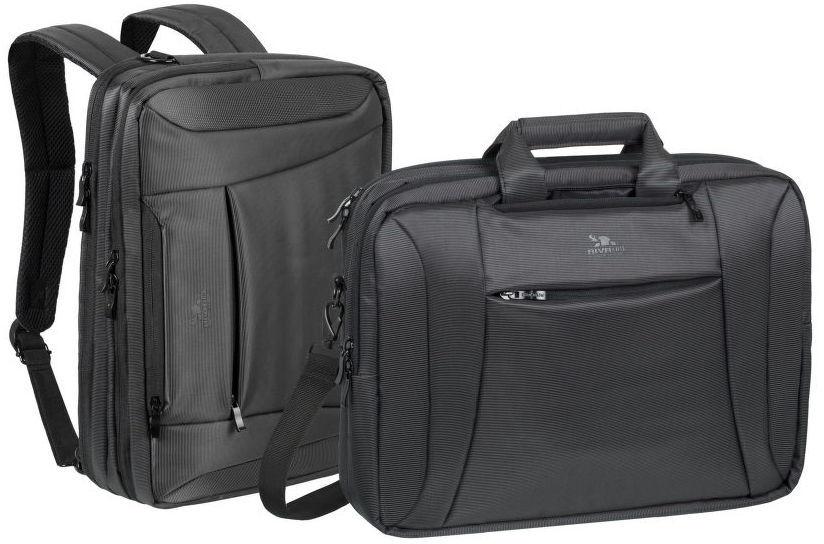 """RivaCase 8290 taška / batoh na notebook 16"""" (černá)"""