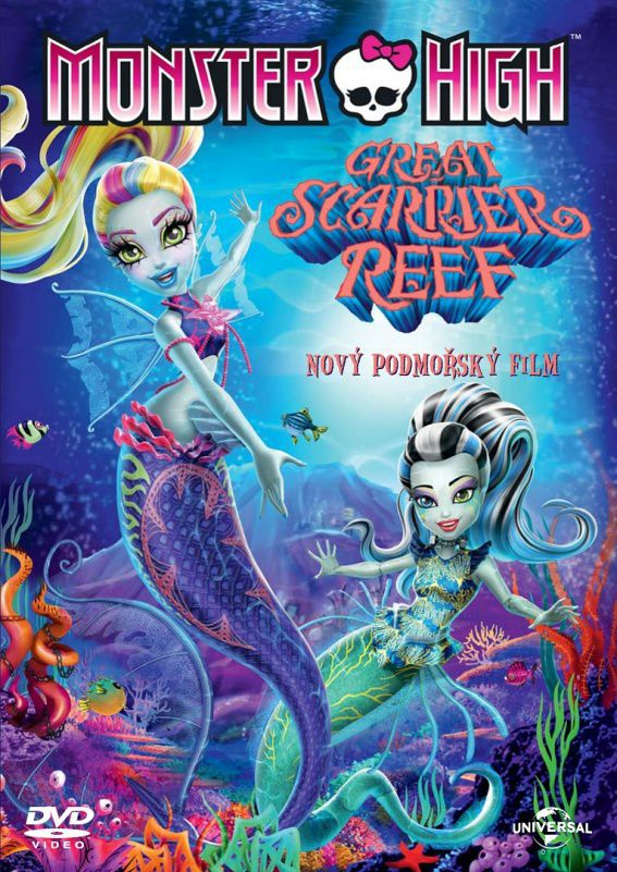 Monster High: Great scarrier reef - DVD film