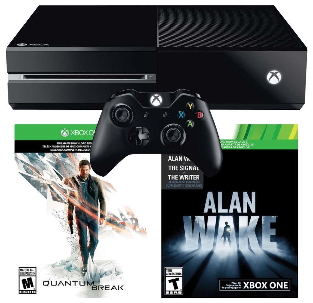 Xbox One 500GB + Quantum Break + Alan Wake + dárek SpeedLink STIX Controller Cap Set - pro Xbox One, SpeedLink SL-2508-BK STREAM Play & Charge Cable Set - Xbox One (černá) zdarma