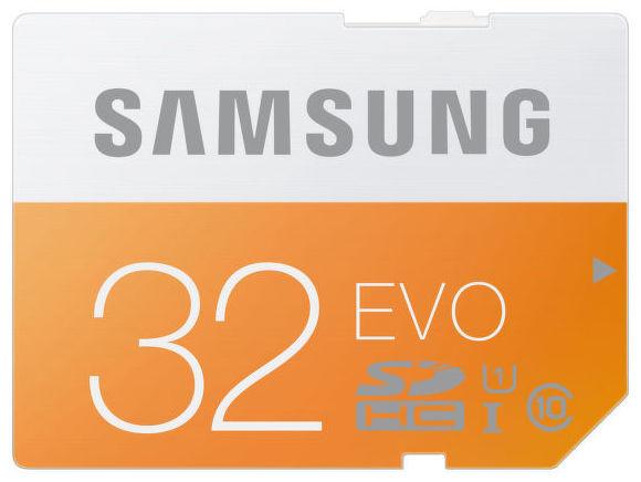 Samsung 32 GB SDHC EVO Class 10