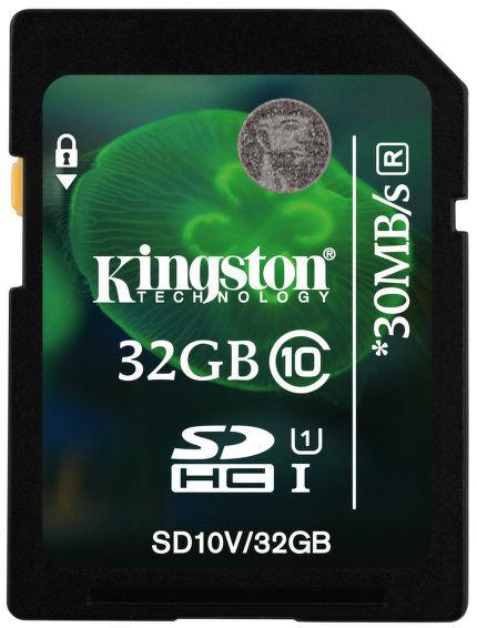 Kingston 32GB SDHC Class 10 Value