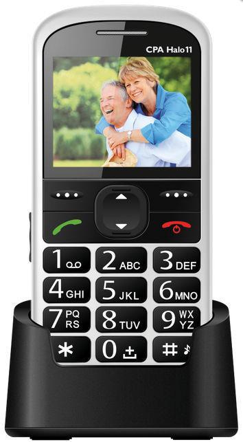 MyPhone Senior - CPA Halo 11 (bílý)