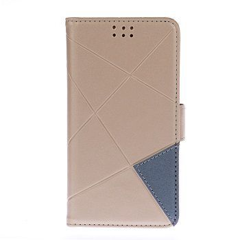 Winner Cross FlipBook pouzdro pro Samsung Galaxy A3 (2016) (zlaté)