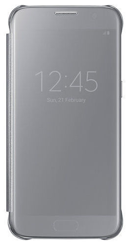 Samsung Clear View EF-ZG930CS SG S7 (stříbrný)