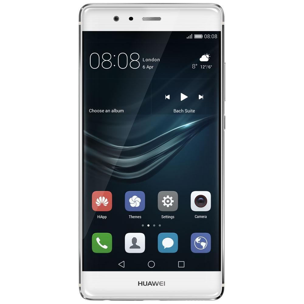 Huawei P9 (mysticky stříbrná) + dárek T-Mobile mobilní internet s kreditem 200 Kč, Huawei rychlo dobíječka 9V2A (bílá) zdarma