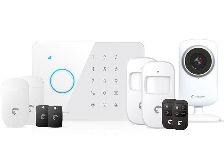 eTiger S3b Sim Vid Secual - bezdrátový bezpečnostní systém s GSM a Video