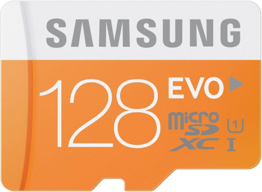 Samsung Micro SDXC EVO Class10 128GB