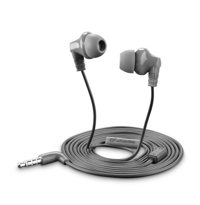 CellularLine Style&Color Cricket (šedé) - sluchátka