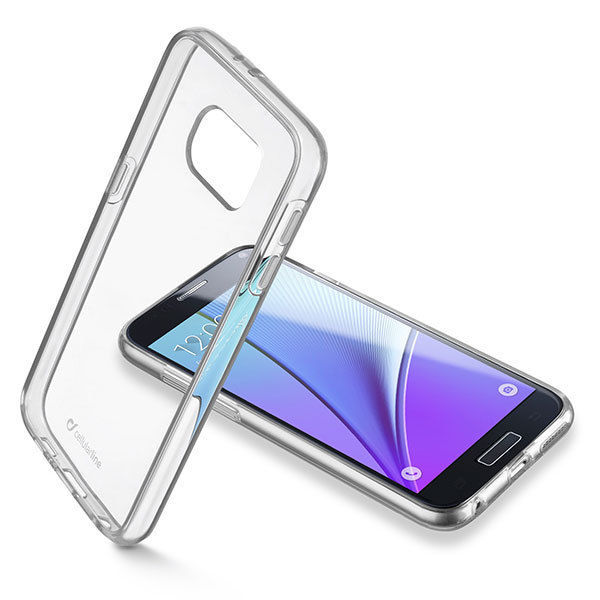 CellularLine Zadní čirý kryt Clear Duo pro Samsung Galaxy S7