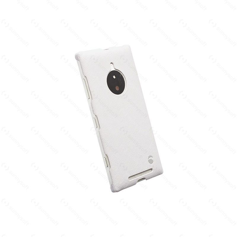 Krusell TextureCover Malmö pouzdro pro Nokia Lumia 830 (bílé)