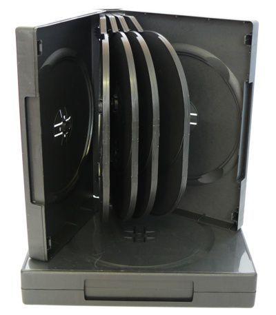 Diskus Plastový obal na 10 CD/DVD