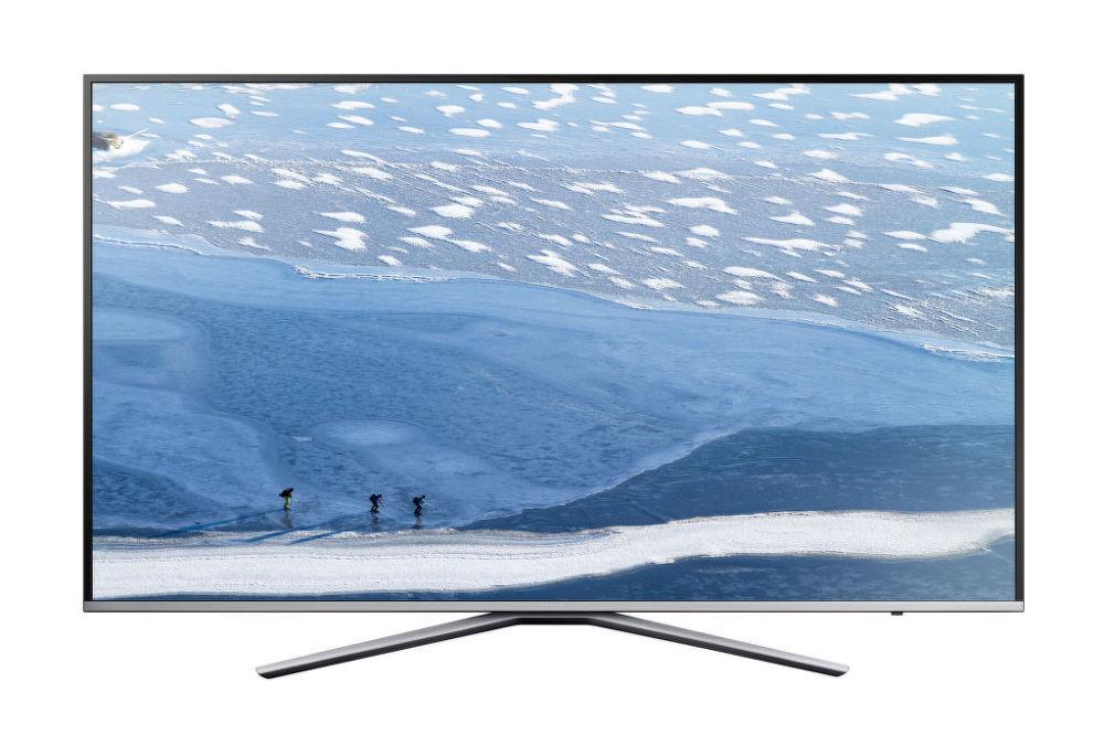 Samsung UE43KU6402U (černo-stříbrná) + dárek Set 3 DVD filmů zdarma