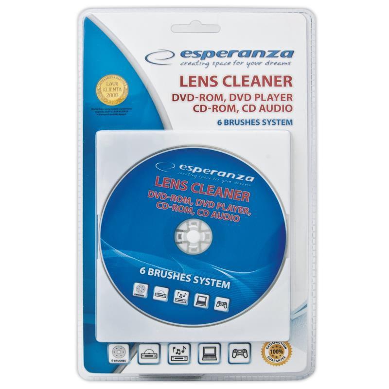 Esperanza ES117 - čistiace CD/DVD