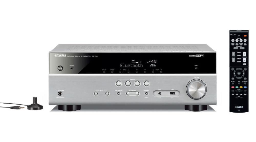 Yamaha RX-V481 DAB MusicCast (stříbrný)