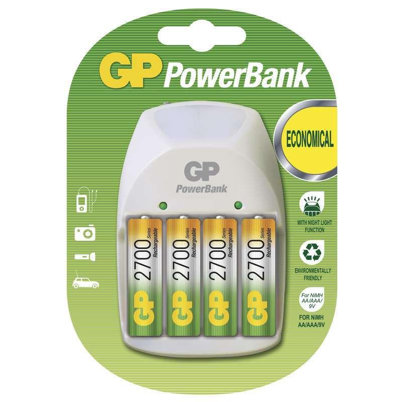 GP B00084 - PowerBank PB11 + 4xAA 2700mAh