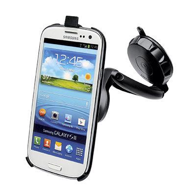 Držák CELLY FlexGo pro Samsung Galaxy S3 s přísavkou na sklo