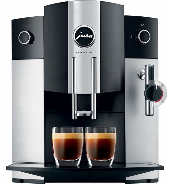 JURA Impressa C65 (stříbrná) - Automatické espresso