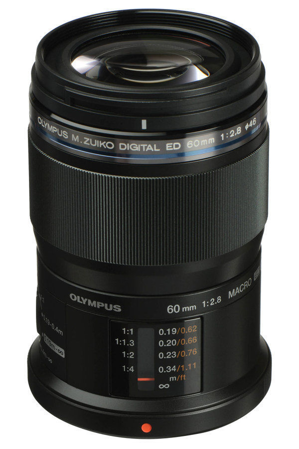 Olympus M.ZUIKO ED 60mm f/2,8 Macro (černý)