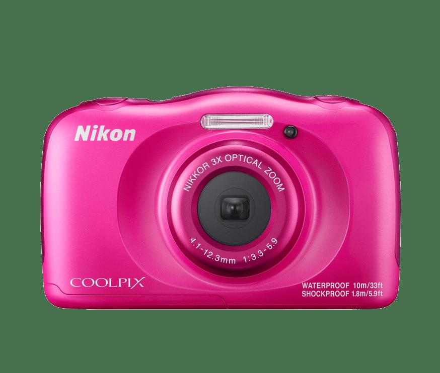 Nikon Coolpix W100 (růžový)