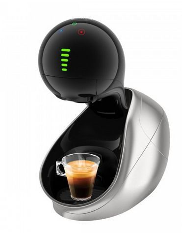 KRUPS KP600E31 Nescafé Dolce Gusto (stříbrná) - Kapslový kávovar + dárek Nescafé Dolce Gusto Latte Macchiato Vanilla zdarma