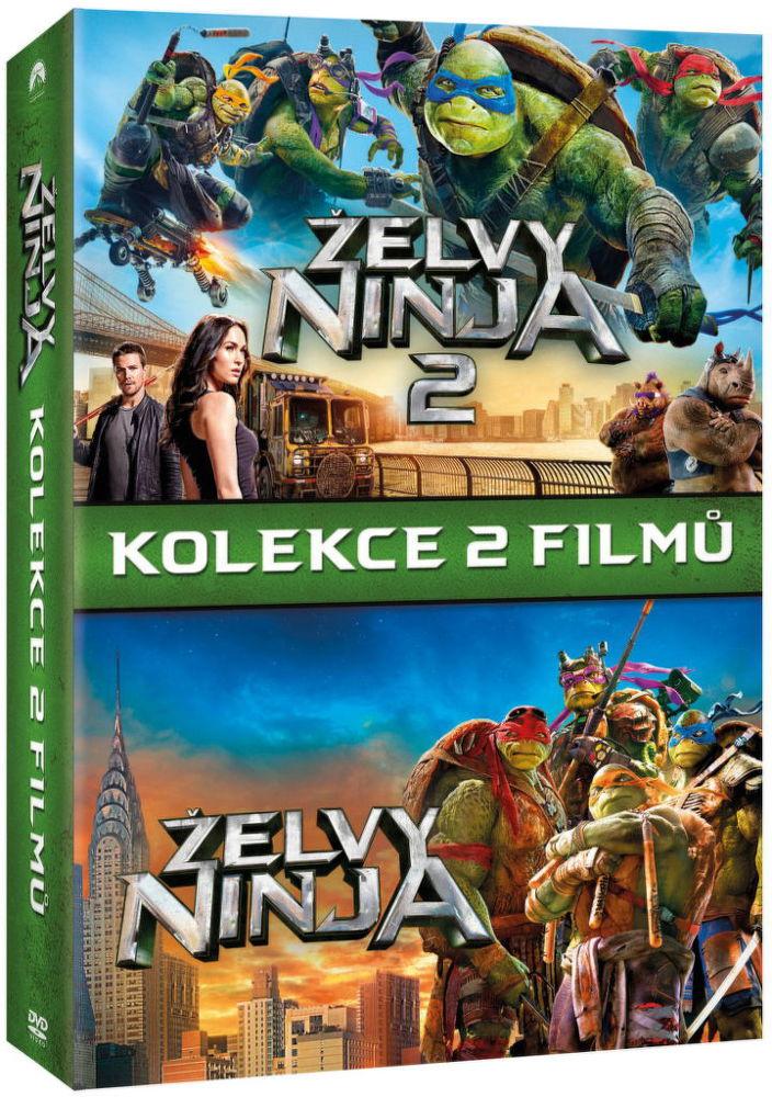 Želvy Ninja kolekce - 2xDVD film