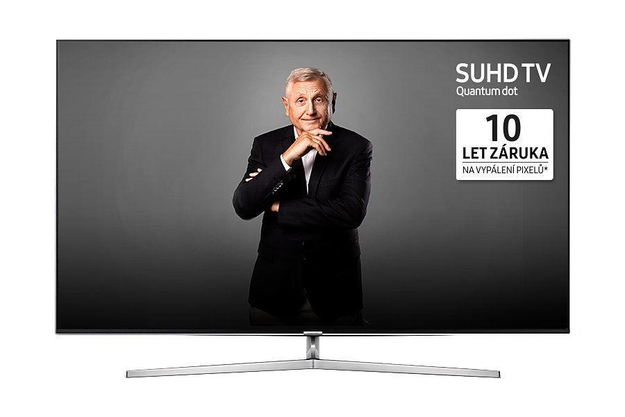Samsung UE65KS8002T (stříbrná) + dárek Set 3 DVD filmů zdarma