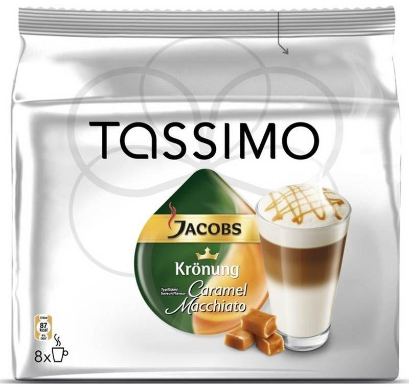 Tassimo Jacobs Latte Macchiato Caramel - Kapslová káva