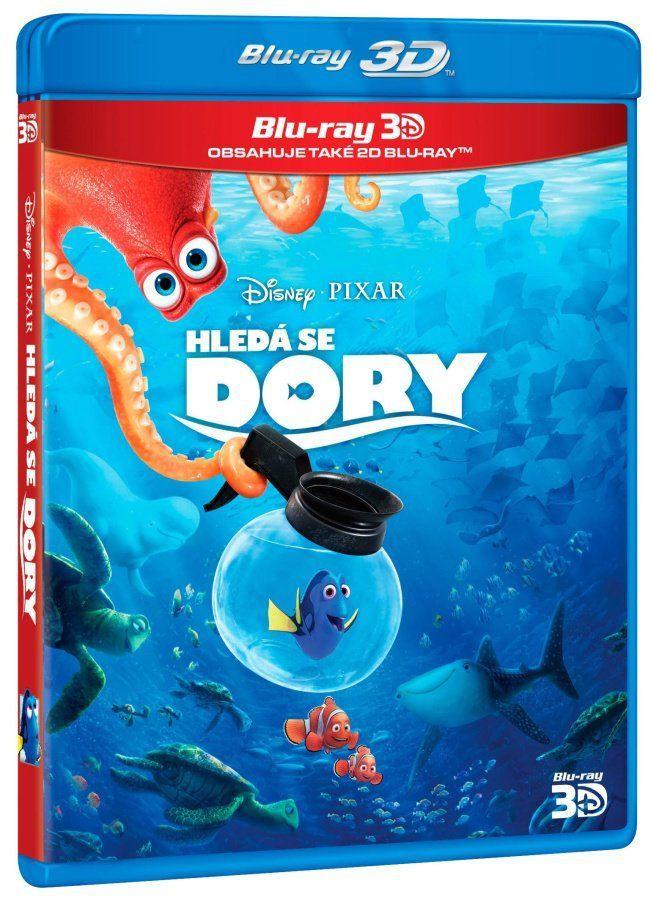 Hledá se Dory (3D+2D) - Blu-Ray film