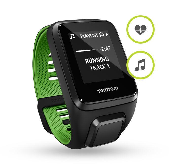TomTom Runner 3 L Cardio+Music (černo - zelené)