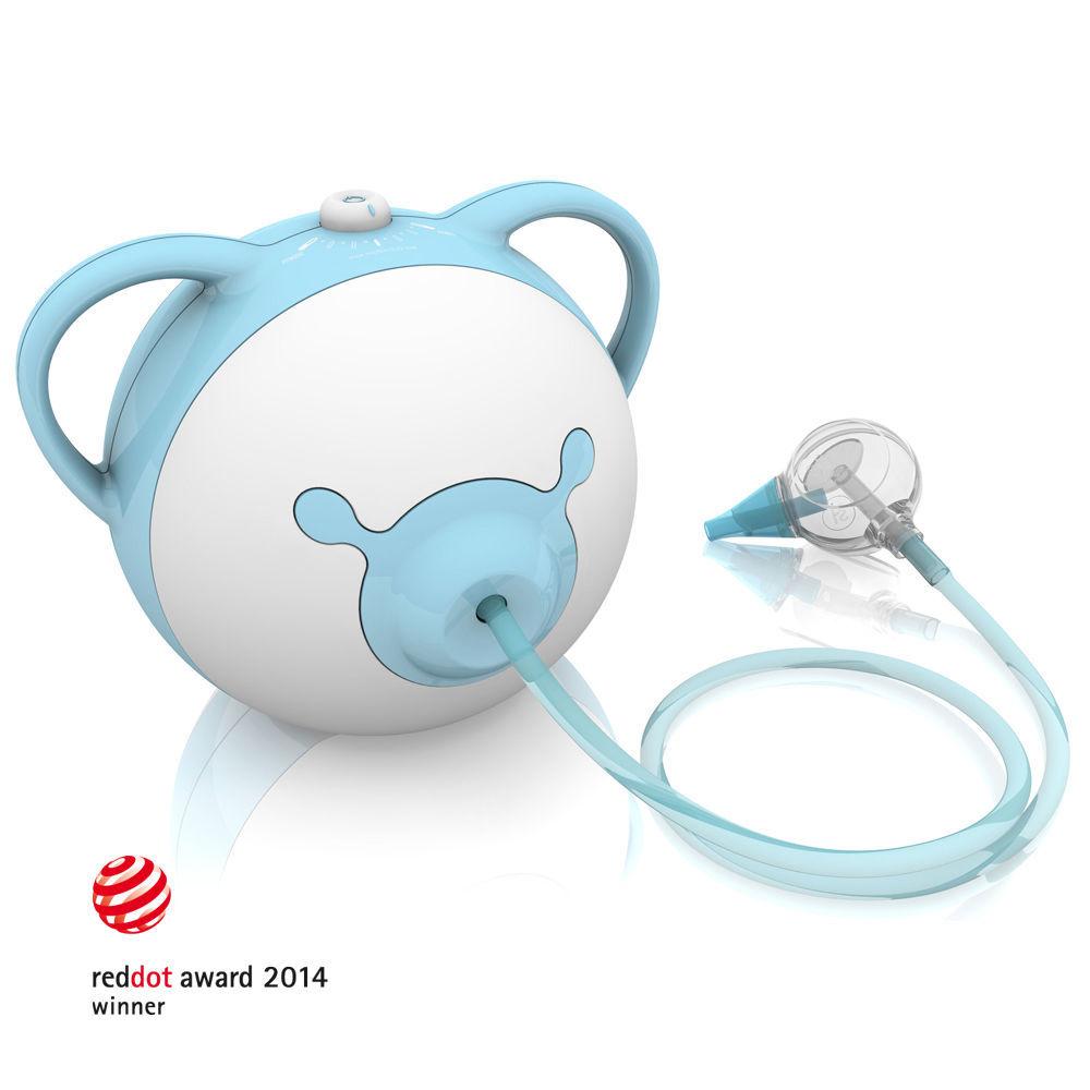 Nosiboo odsávačka (modrá) - Elektrická odsávačka hlenů