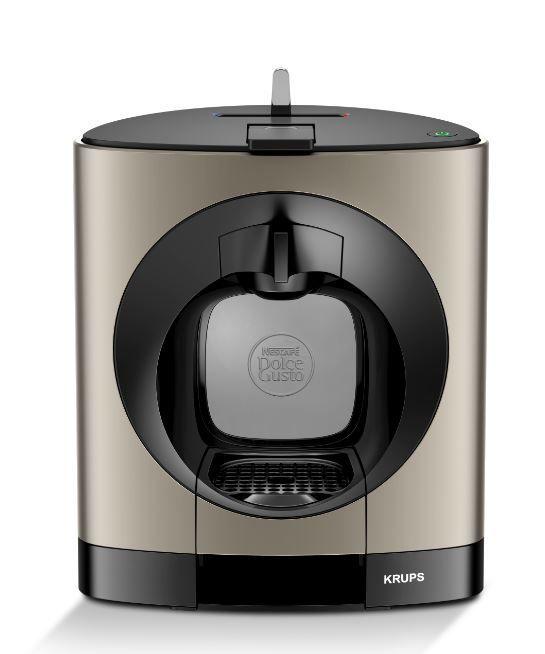 KRUPS KP110T31 Nescafé Dolce Gusto OBLO (titán) - Kapslový kávovar