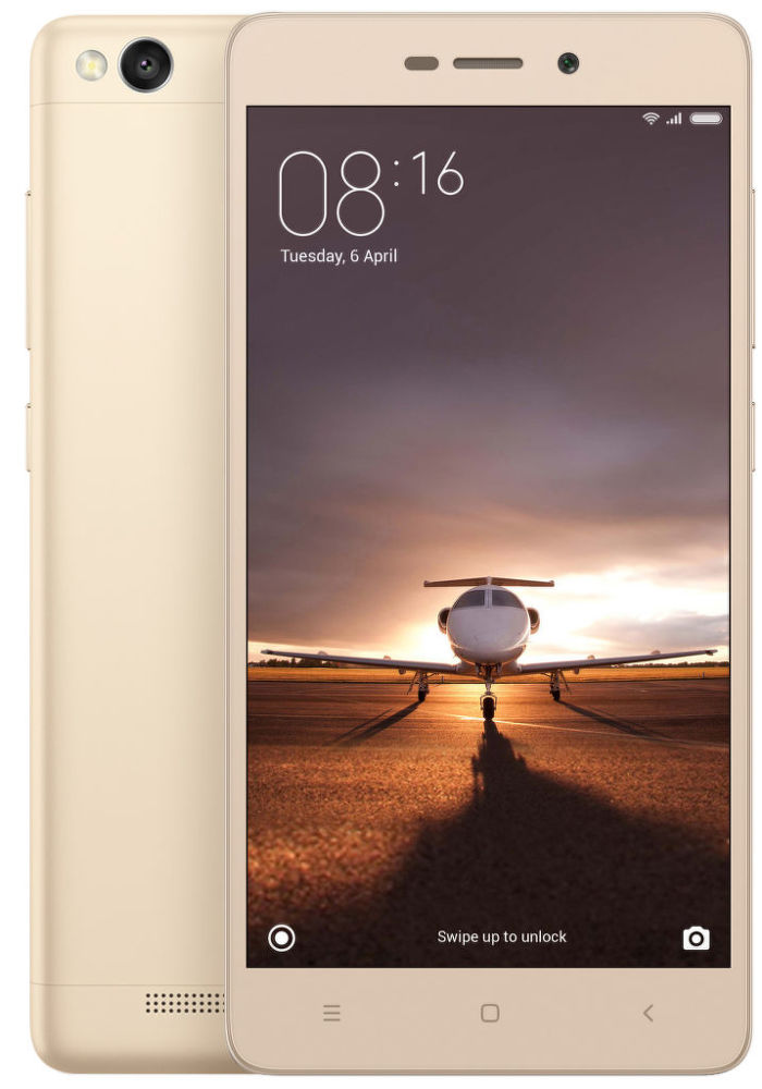 Xiaomi RedMi 3S 16GB (zlatá)