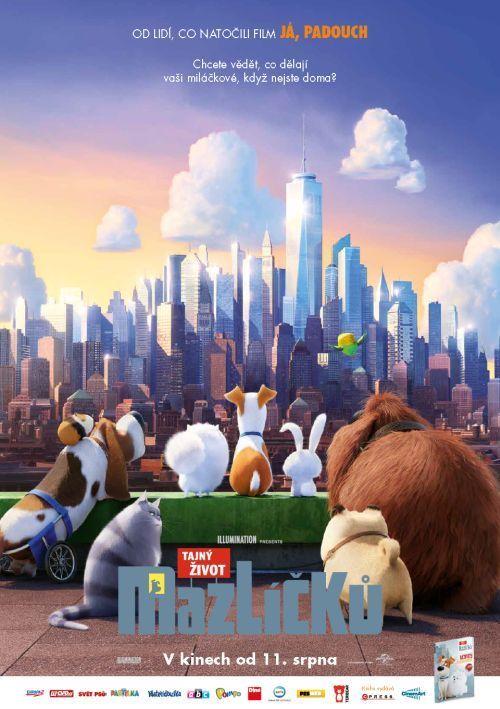 Tajný život mazlíčků - Blu-ray film