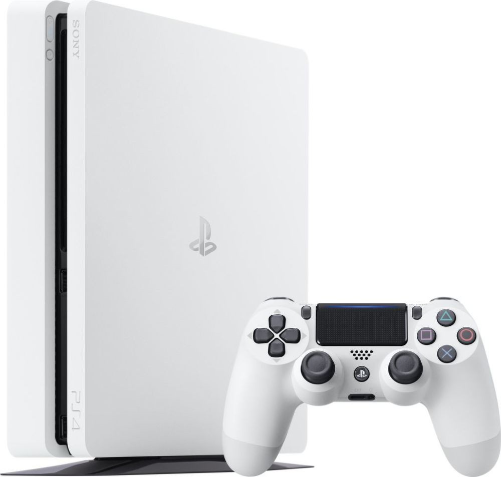 Sony PlayStation 4 Slim 500GB (bílá)