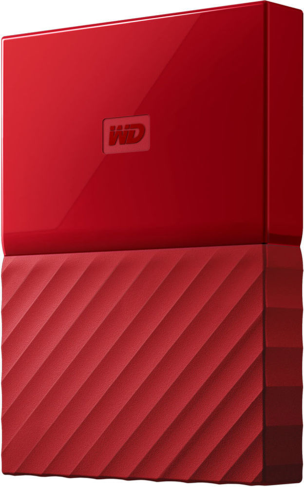 "WD My Passport 2,5 ""1TB USB 3.0 (červená)"