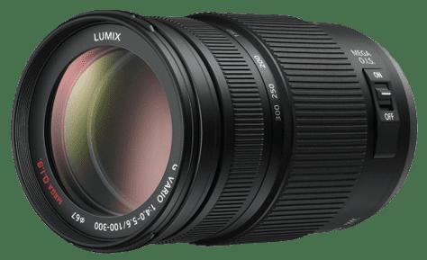 Panasonic Lumix G Vario 100-300mm f/4-5,6 Mega O.I.S (černý)