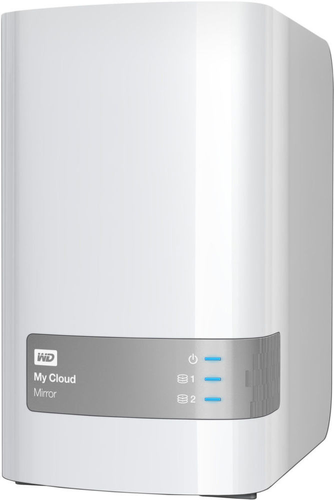 WD My Cloud Mirror 2x4TB (bíly) - NAS
