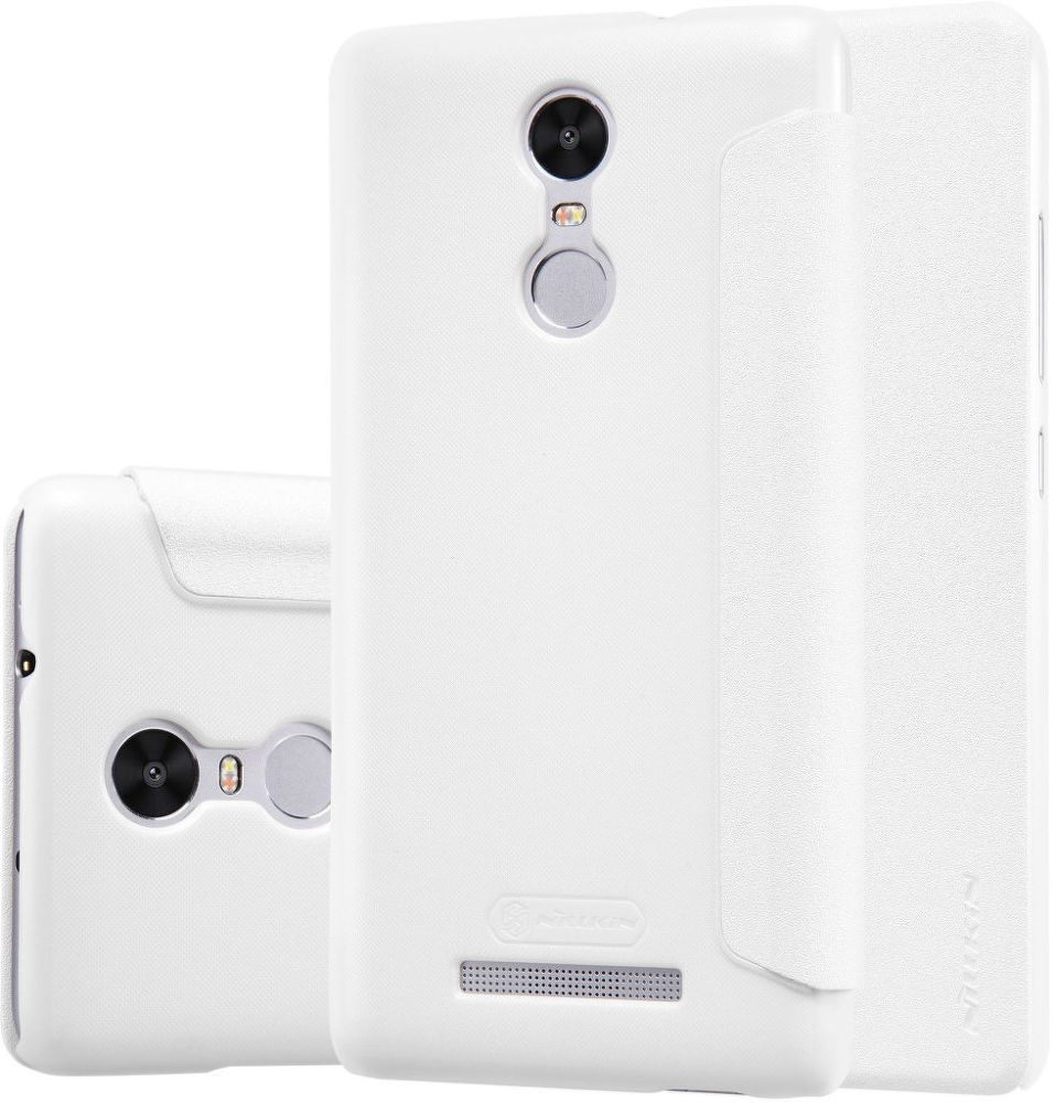 NILLKIN Sparkle Folio Xiaomi Redmi Note 3 Pouzdro (bíle)