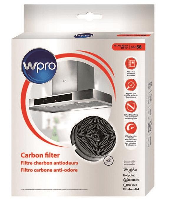 Wpro AKB000/1 uhlíkový filtr