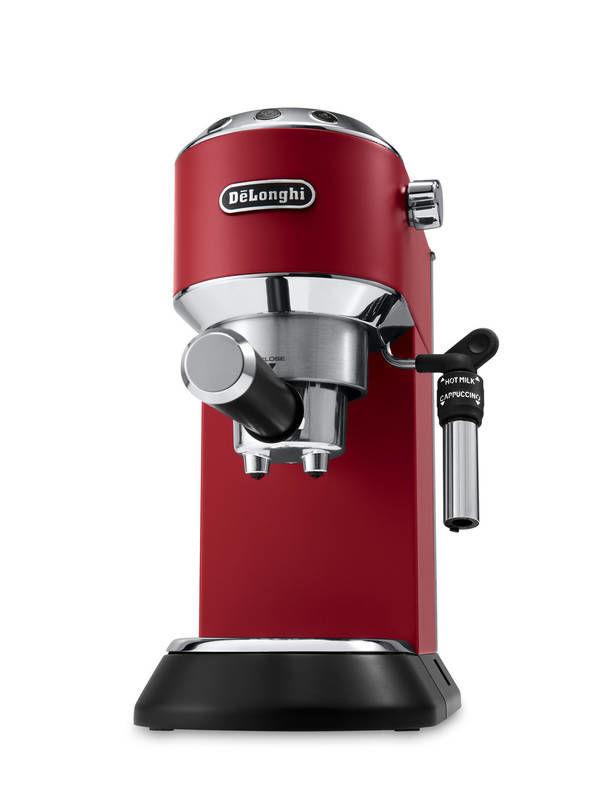DELONGHI Dedica EC685.R (červená) - Pákové espresso