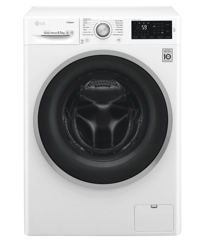 LG WD60J6WY1W, Automatická parní pračka